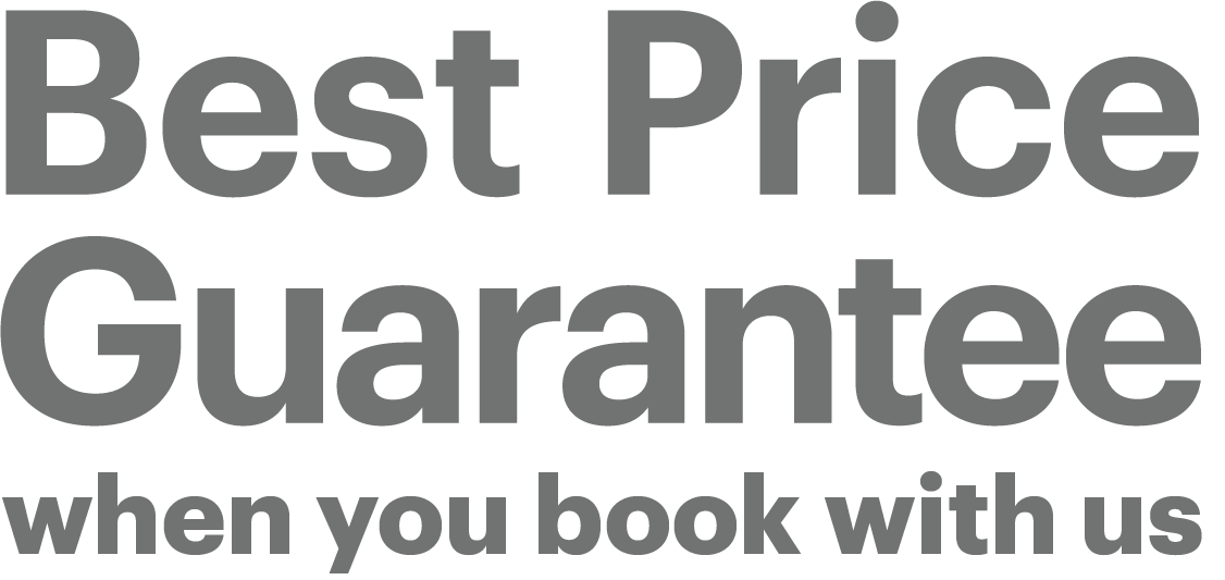 Best price guarantee or your first night is free.